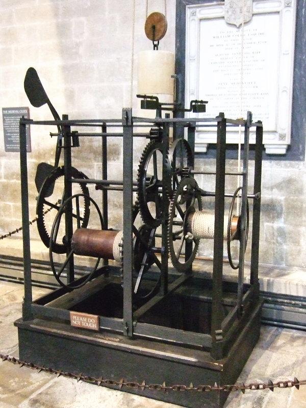 ソールズベリの世界最古の現役時計