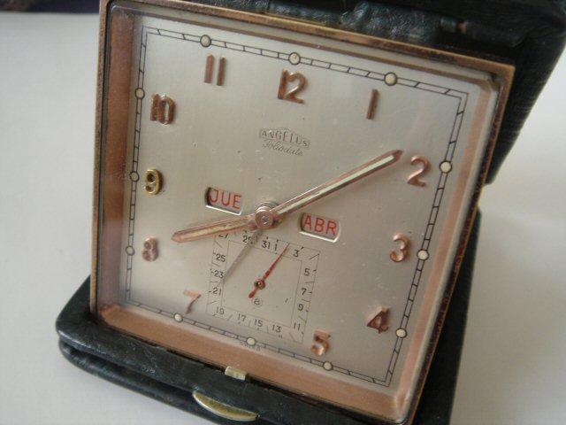 アンジェラス カレンダー付き目覚し時計